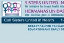 Sisters United in Health/Hermanas Unidas en la Salud / The mission of SUIH is to provide women with free, breast health information that can help to save lives. We are a group of thirteen organizations that are here to provide you with information about where to receive a free or low-cost mammogram, give you information about breast health and breast cancer, and provide you with support if you or someone you love needs help.