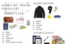 Travel: Carry-On Tote Checklist