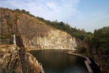 Quarry restoration