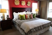 Bedrooms / Love in the home is made in the sleeping quarters.