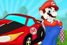 Mario Resimleri / En sevilen oyun karakteri süper mario'nun birbirinden güzel oyun resimleri ve oyunları