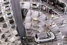 Aparcamientos / Parking. Design. Architecture