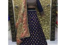 Wedding Collection / Heavy embroidered designer indian wedding wear clothing like sarees, lehenga cholis, salwar suits, wedding gowns
