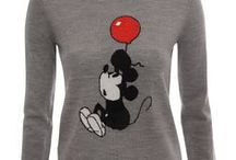 Vintage Mickey Sweaters by Markus Lupfer / Markus Lupfer Creates Adorable Vintage Mickey Sweaters