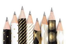 Pen & paper / Stationery to covet.