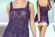 Crochet Tops and Clothing / by Beate Gravel