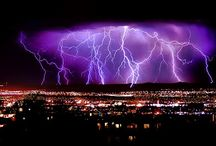 Lightning / I think thunder to be power and the message which God gives.