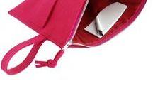 """bag - wizytówka / Torebka na wiosnę - """"wizytówka"""". Wykonana z włoskiego filcu.  Handmade item. Materials: felt, silver zipper width:  33 cm height: 25 cm Handbag, bag"""