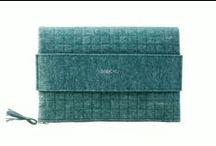 Green handbag - zielona bagcylka. / Green handbag. Handmade item. Colour: green. Materials: felt, silver zipper.