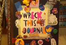 WRECK THIS JOURNAL / ~pages from my WTJ~ This is all my own artwork