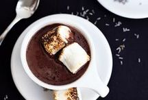 Hot Chocolate & Cocoa / Hot chocolate and cocoa recipes with marshmallows