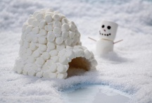 Snow Day! / winter kids crafts, indoor kids crafts and activities, marshmallow winter crafts, easy indoor kids activities
