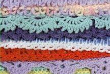 Crochet Edgings / by Julie Bull