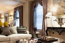 Stunning Spaces / I could have been an Interior Designer. I love to decorate and I've been told I'm really good at it!