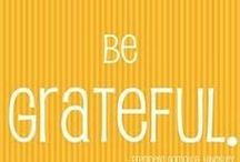 Gratitude / I am truly grateful for The Good, The Bad AND The Ugly. It made me EXTRA-Ordinary!