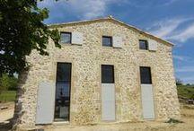 Le Neys / Ferme réhabilitée en logement en Ardèche. Maitre d'ouvrage Privé.