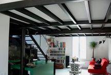 Appartement, Paris XIV. / Agrandissement d'un appartement par annexion des combles. 70 m² Année : 2009