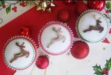 Christmas Cake Decorating / Decorate your festive treats with our Christmas cake moulds.