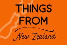 Things from New Zealand / The Kiwiana things, the Maori things, and all the great things that come from Aotearoa New Zealand!