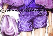 August 2014 / http://annafashionillustrator.blogspot.com anna_fashion_illustrator instagram