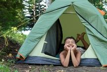 Camping fun & tips / Outdoor & Indoor Camping tips and fun ideas for kids and families!