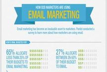 E-mail marketing / E-mail marketing infographics for hotelier.
