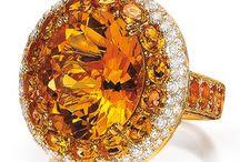 Jewelry ;  Citrine / by Martha .