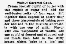 Recipes in Maryland Newspapers / Recipes found in digitized Maryland newspapers, available at http://chroniclingamerica.loc.gov/.
