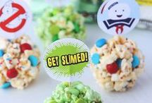 Ghostbusters Treats & Eats / Ghostbusters treats, kid's snacks and recipes