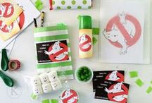 Ghostbusters Party / Ghostbusters party food, decorations and invites