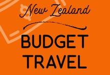 Budget Travel | New Zealand / Travel New Zealand on a budget. Helpful tips on budget travel in New Zealand for backpackers and working holidaymakers.