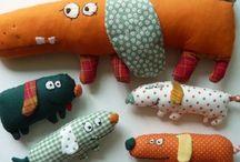 Plush Creatures DIY / Plush toys