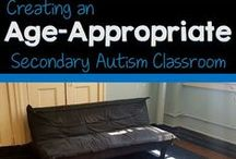 Middle & High School Autism Classroom Resources / Ideas for teaching students with autism in middle and high school ages. Includes resources for functional and life skills curriculum classes as well as those in general education.  This board is closed to contributors. Rules: 4-5 ideas that are not products for every product pin.