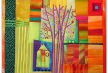 Modern quilts / Modern quilt inspiration