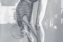 Anatomy, figures and portraits