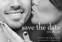 save the date postcards / Save the date postcard design ideas for weddings