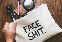 Makeup and shit.