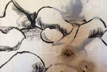 Common Threads Works in Progress / Jo Roszkowski & Juliet D Collins Joint Exhibition 2017