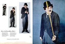 A minha versão de Esta Cara não me é Estranha / Quem imita O Vagabundo, de Charlie Chaplin, na excelente produção fotográfica de Bert Stern em 1963?