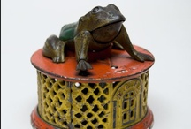 Antique cast iron banks / by Rod Wilson