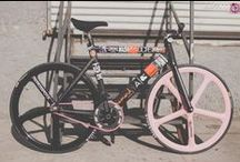 Track bike's  A.K.A  Fixgear STEEZYASFUCK / SOME OF THE HOTTEST TRAK BIKE builds AKA FIXedGEAR ..•:**:•.BICYCLES this vehicle composed of two wheels one kog held in a frame one behind the other. No  breaks powered by raw uncut ♡ stamina and will power. (Blog... )