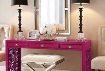 Coloured furniture