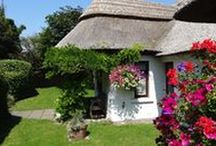 Cottages Ireland - Little Orchard Cottage / This charming 300 year old thatched cottage has been totally refurbished and extended to a very high standard to provide luxurious spacious holiday accommodation for five people.