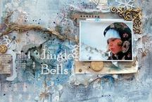 Elena Arts / my works and creations of scrapbooking: albums, LO, cards, notebook; collages, mixed media, shabby chic and much more