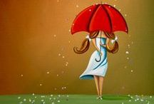 rain. / rain.