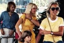 Agnetha,Björn and Lena / Comes in third