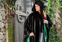 Avalon Renaissance Cloak / Premium quality butter-soft Viscose/Rayon Velvet Cloak lined (hood & sleeves) with luxurious 100% Satin. / by HolyClothing.com