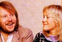 Agnetha with Benny