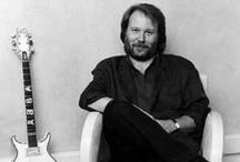 """Benny 2 / Benny Andersson was born on December 16, 1946 in Stockholm. He grew up in the suburb of Stockholm - Vällingby . He played accordion and piano.Benny says: """"My grandfather and father tried any musical instrument that they could find, whether it was the piano-accordion they gave me, or a flute, or a fiddle. I guess I just inherited whatever they had. They loved folk music. I learned a lot of the old tunes from them and my early playing had a definite folk flavor about it."""""""