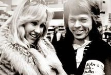 Agnetha with Björn 2 / Björn : 'I fell in love when I heard Agnetha's song on the radio. I was madly attracted to that voice.' The pair met in May 1968, when she was 18 and he was 23.